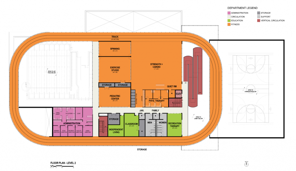 STAR Center floor plan